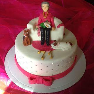 FLOWER CAKE DESIGNER: Cake de aniversário