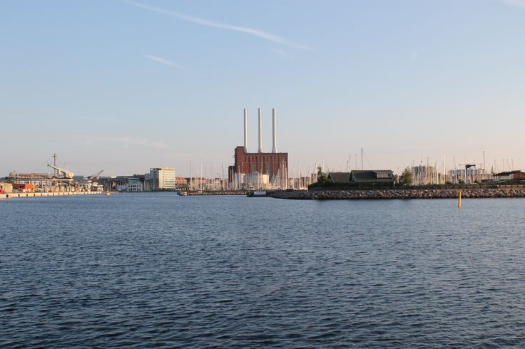 Entrance to Svanemolle marina, start destination for the #B4N