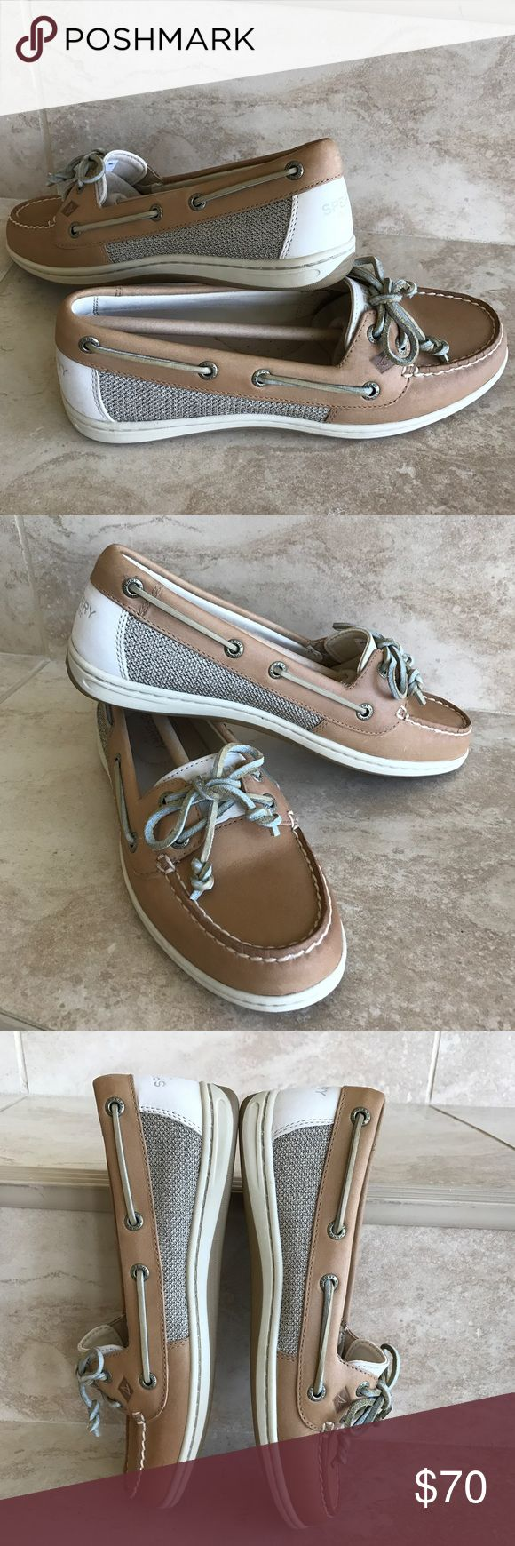 Sperry top sider firefish core linen/oat Boat shoe NIB sperry women's topsider firefish core leather boat shoes Sperry Shoes Flats & Loafers