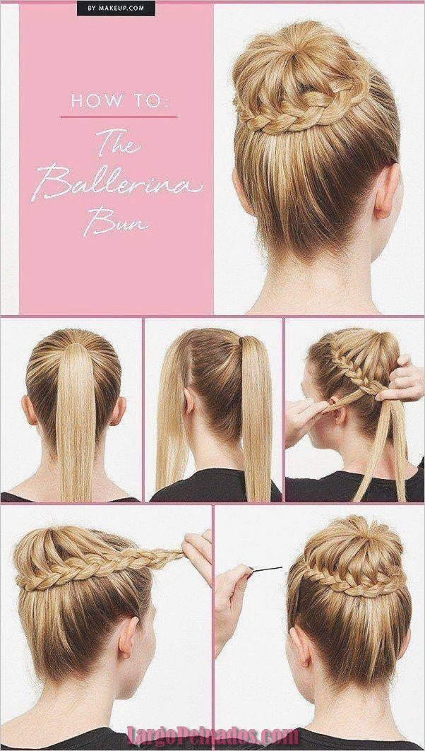 35 Peinados Paso A Paso Faciles Y Rapidos Para Ninas Peinados De Bailarinas Peinados Con Trenzas Monos Con Trenzas