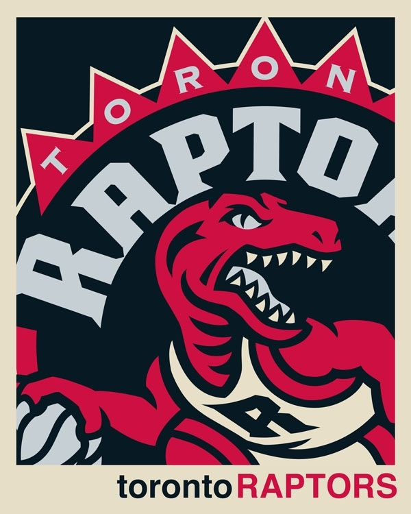 @Toronto Raptors NBA logo artwork. See our full collection of fine art print and stretched canvas pieces at rareink.com