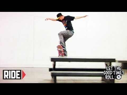 This week, Jamie Thomas, Josh Kalis, Chris Cole, David Reyes, Ben Gilley, Josiah Gatlyn, Trevor Colden, Kyle Frederick, John Fitzgerald, Chris Coogan, Adam Davies, and Garrett Hill skate the Black Box Vert Rampa and Street Course!    Go on a trip each Tuesday with legendary skateboarder Jamie Thomas and friends to get an exclusive look into their life in skateboarding.