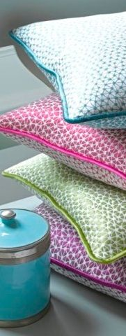 Fabrics by Voyage Decoration - available from Mills and Kinsella 07921 215026