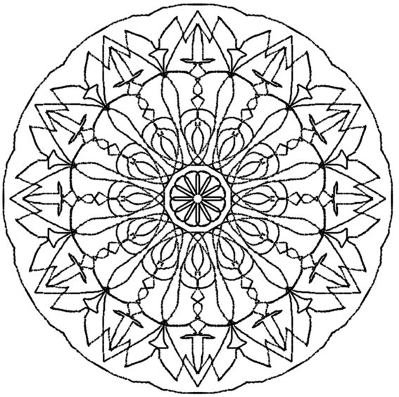 1000 ideas about mandala a imprimer on pinterest mandala imprimer coloriage mandala - Mandala pour adulte ...