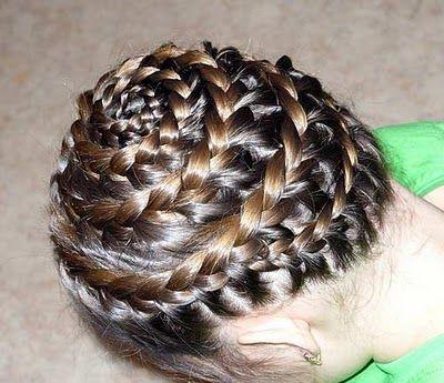 peinados con trenzas para nias  paso a paso
