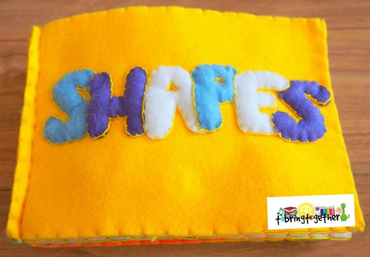 Shapes not-so-quiet book