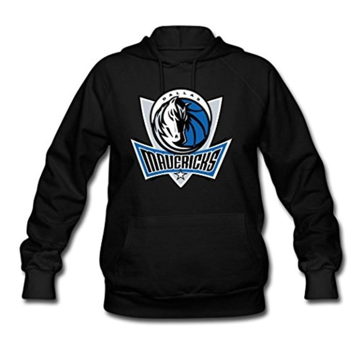 Woman's Autumn NBA Dallas Mavericks Symbol Hoodies Sweatshirts Hoodies Shirts Black M - Brought to you by Avarsha.com