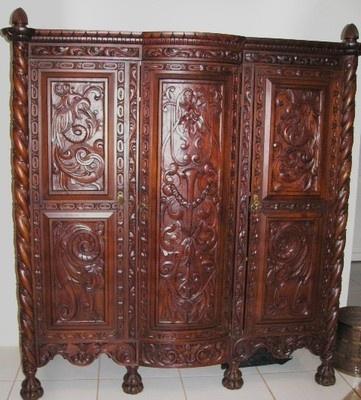 Antique Bedroom Set Spanish Baroque 10 Piece Furniture Set CA 1915 | eBay