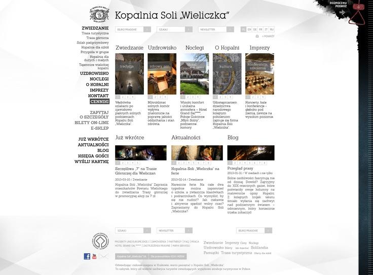 """The """"Wieliczka"""" Salt Mine  www.kopalnia.pl"""