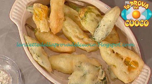 Le ricette della Prova del Cuoco: Fiori di zucca party ricetta Anna Moroni da Prova ...