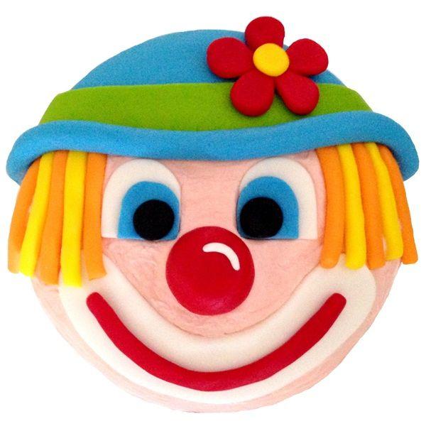 Easy Clown Cake
