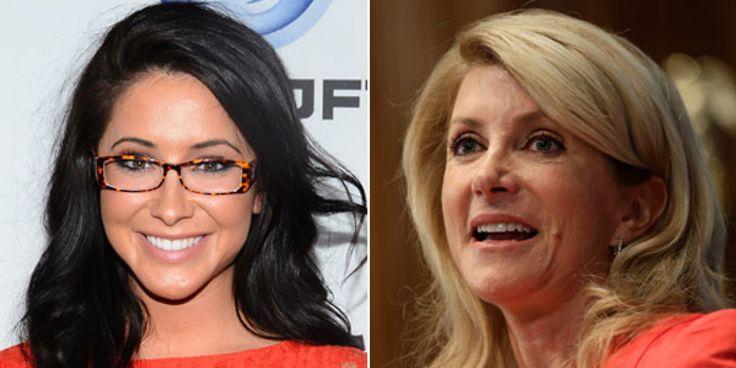 Texas state senator and gubernatorial candidate Wendy Davis (D) is rebuking harsh criticism from Sarah Palin's daughter, Bristol.