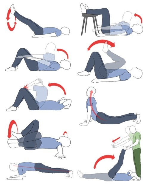 Some lower-ab exercises to improve your core and lower-back strength.