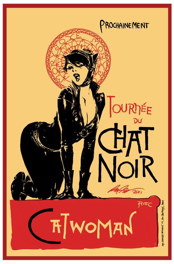 Catwoman - Comic Book Artist: Rafael Albuquerque | Abduzeedo | Graphic Design Inspiration and Photoshop Tutorials