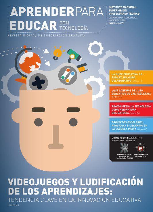 """Nuevo número de """"Aprender para educar"""", revista gratuita sobre tecnología y educación"""