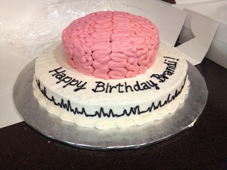 I was asked to do a brain cake for a girls sister who just had brain surgery and was recovering around her bday. She loved it!