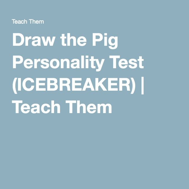 This is a photo of Vibrant Drawing A Pig Icebreaker