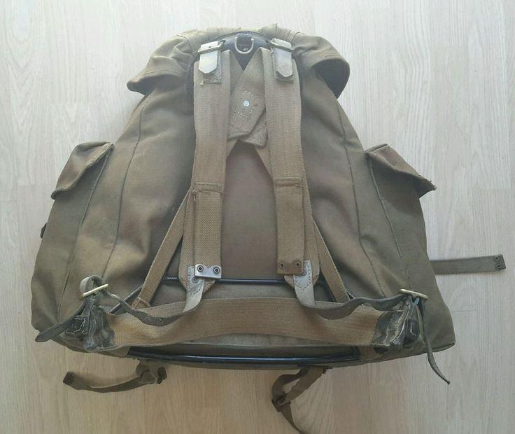 (1941) Bagcraft Ltd WW2 British Commando Rucksack Bergen SOE , SAS