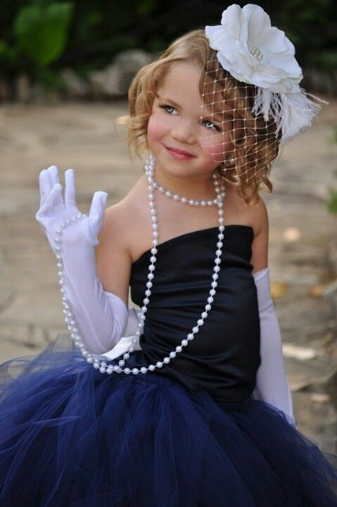 I don't do strapless for little girls.  But this is freaking adorable if I could get her to wear it (: