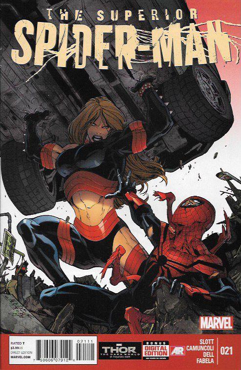 The Superior Spider-Man # 21 Marvel Now !
