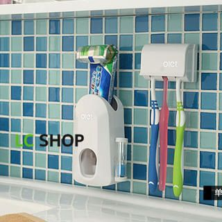 Buy 'Lazy Corner – Set: Toothpaste Squeezer + Toothbrush Holder' at YesStyle.com plus more China items and get Free International Shipping on qualifying orders.