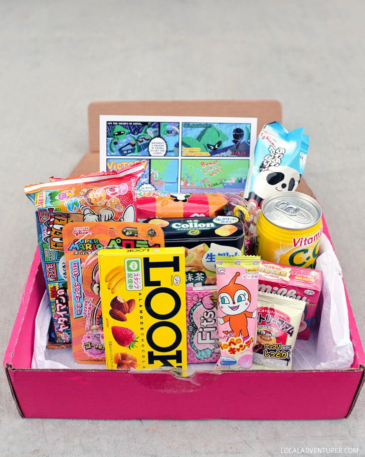 Japan Crate - A Snack Box Subscription with Weird Japanese Candy and Snacks.