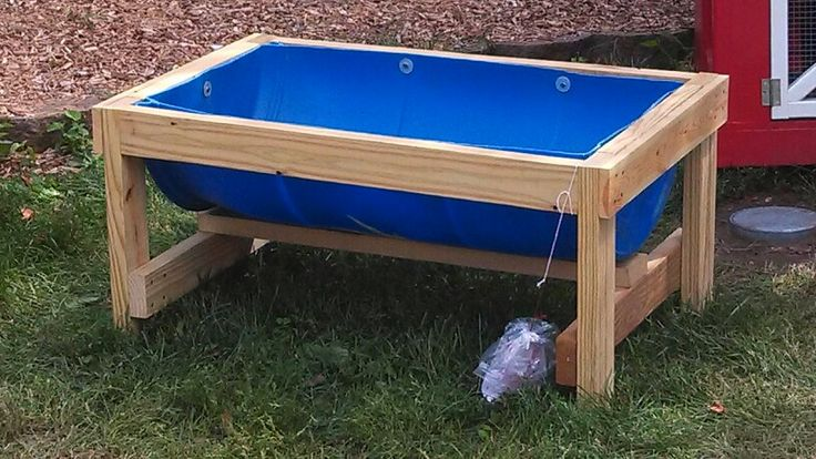 Water/Feed Trough