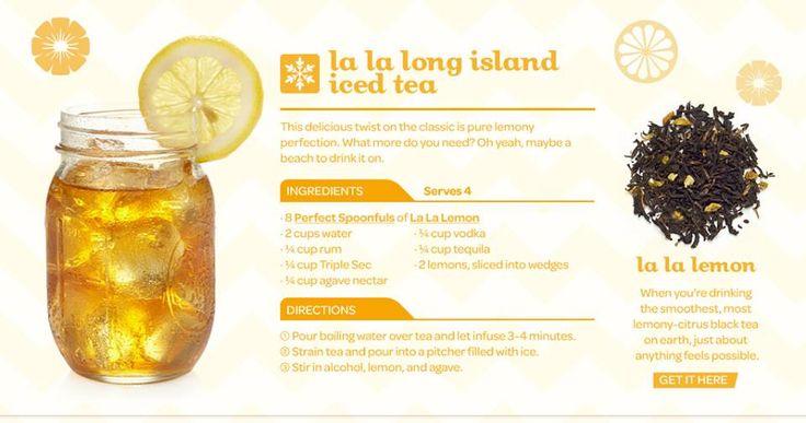 Recipe from David's Tea