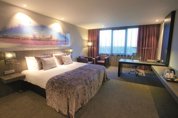 Standaard kamer in hotel van der Valk Dordrecht.