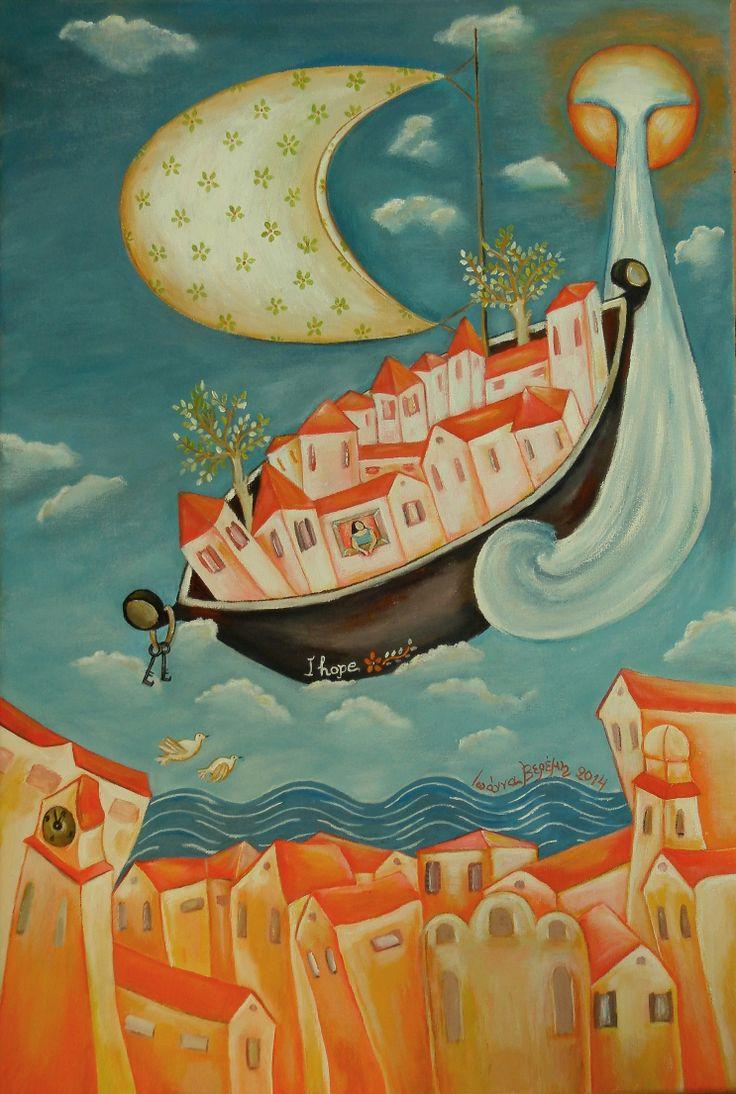 Ακρυλικό σε καμβά 40Χ60 by Ioanna Veremi