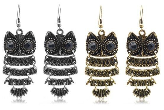 (Min order$10)Free shipping!Stylish retro Owl Earrings Korean Earrings!#12121 on AliExpress.com. $0.88