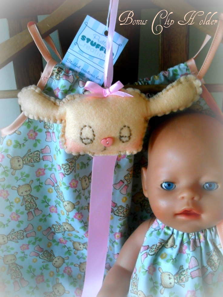 Daughter and Dolly Set©  Clip Holder