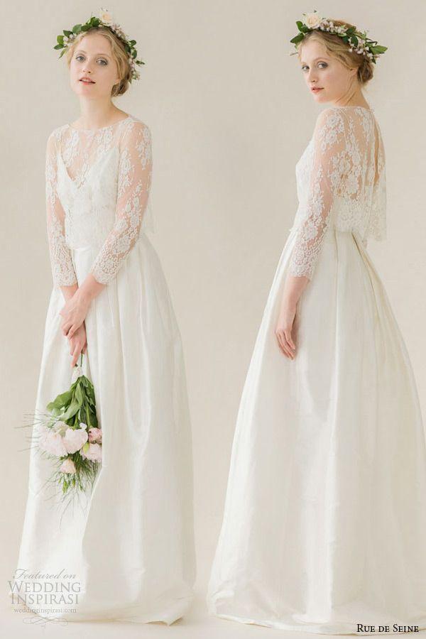 Rue de Seine Wedding Dresses — Young Love Bridal Collection | Wedding Inspirasi