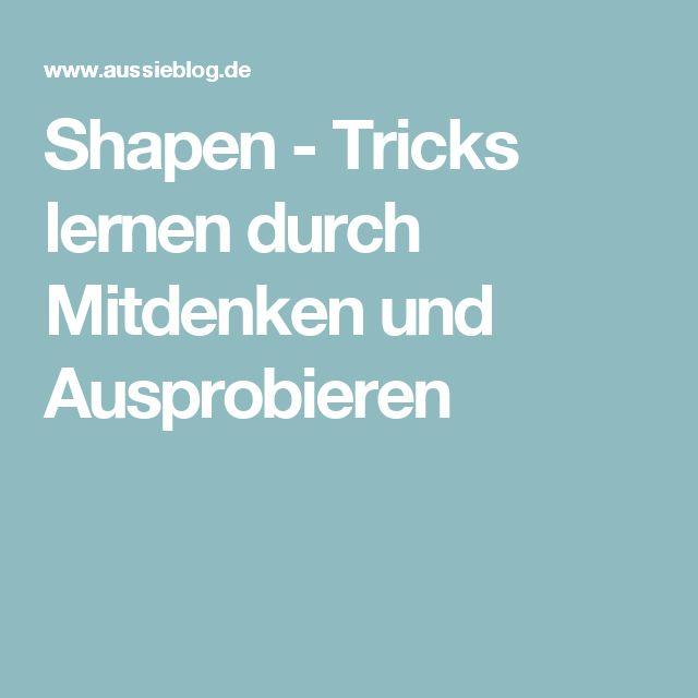 Shapen  - Tricks lernen durch Mitdenken und Ausprobieren
