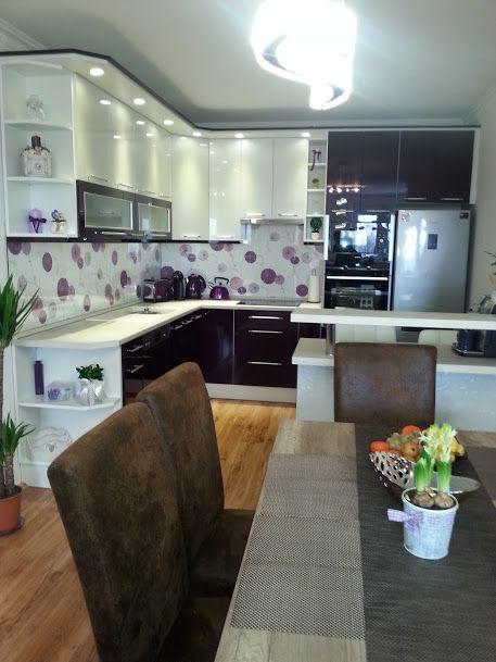 Lila konyha - purple kitchen