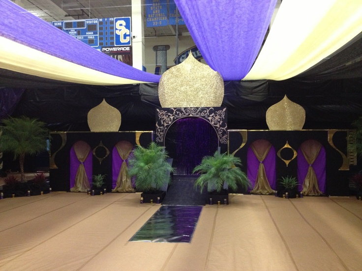 senior walk at arabian nights prom arabian nights or senior night decoration ideas & Prom Backdrop Ideas. Poly Vinyl. Image Of Hollywood Prom Decorations ...