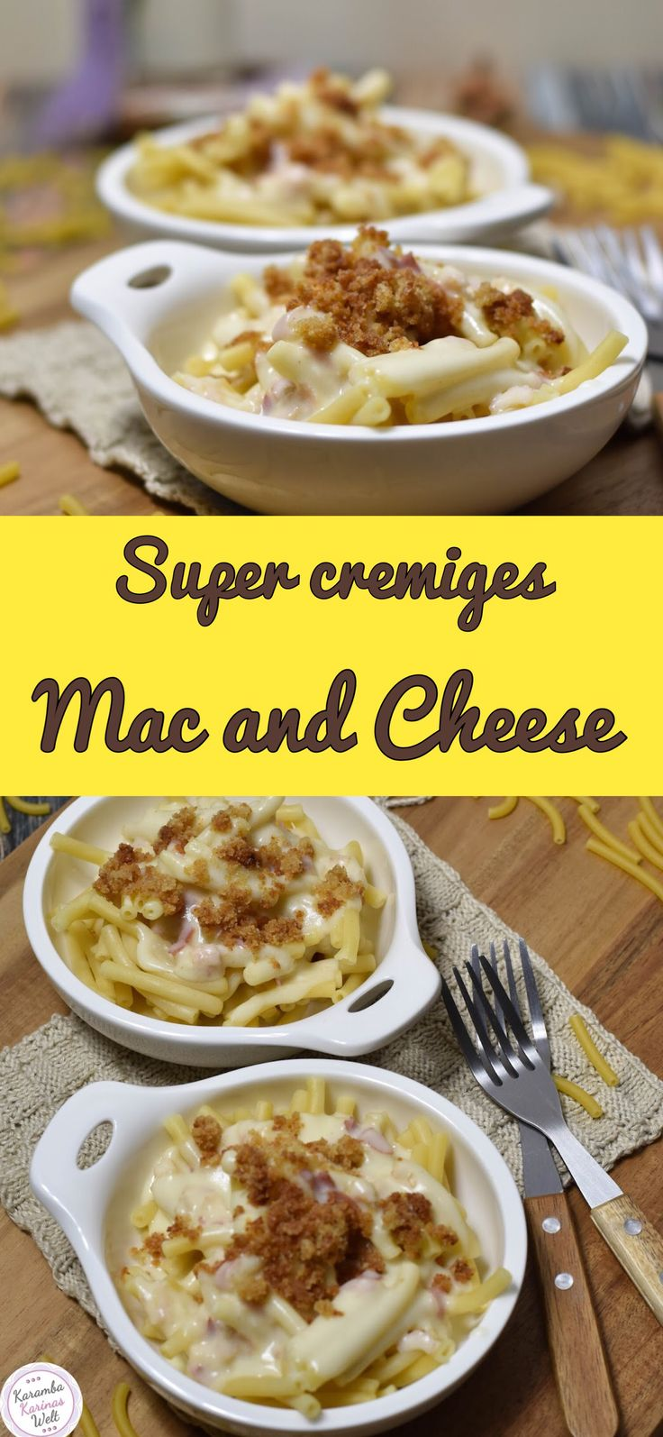 Super creamy Mac and Cheese   – rezepte