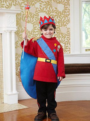 King costume that I made for Parents Magazine (2011)