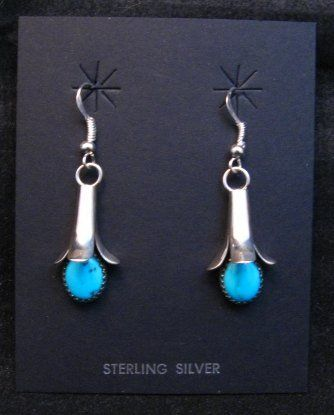 7d91ce8d8 Navajo Turquoise Squash Blossom Earrings, Doris Smallcanyon. Find this Pin  and more on Native American Indian Jewelry ...