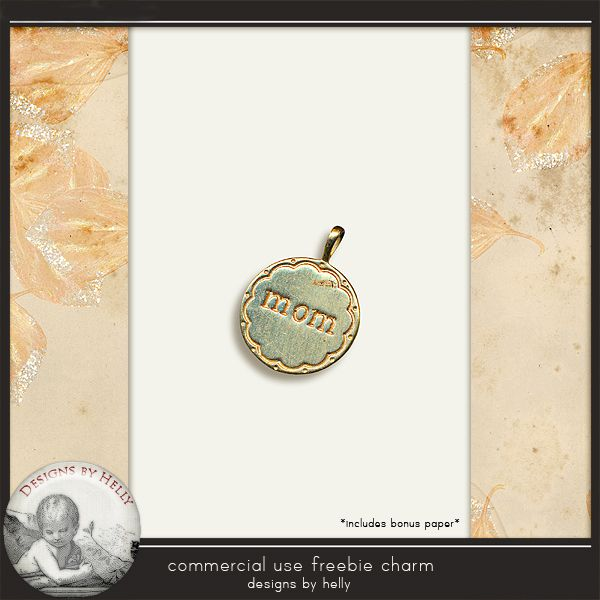 Designs by Helly: CU Freebie...Mom Charm