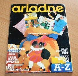 ARIADNE Maandblad voor handwerken, tijdschrift nr. 11 van november 1979 met werkschrift & werkblad
