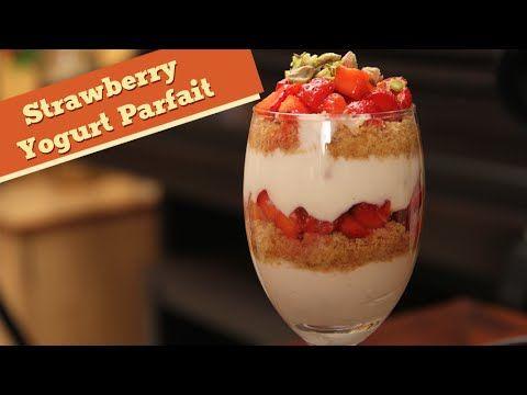 Valentine's Day Special - Strawberry Yogurt Parfait - Divine Taste With ...