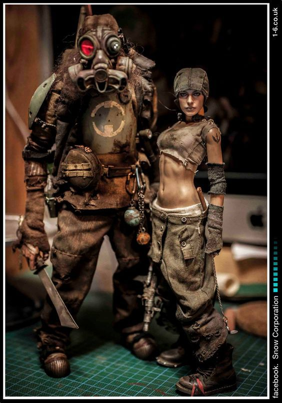 Post apocalyptic fashion clothing ideas that s one hellava doll post