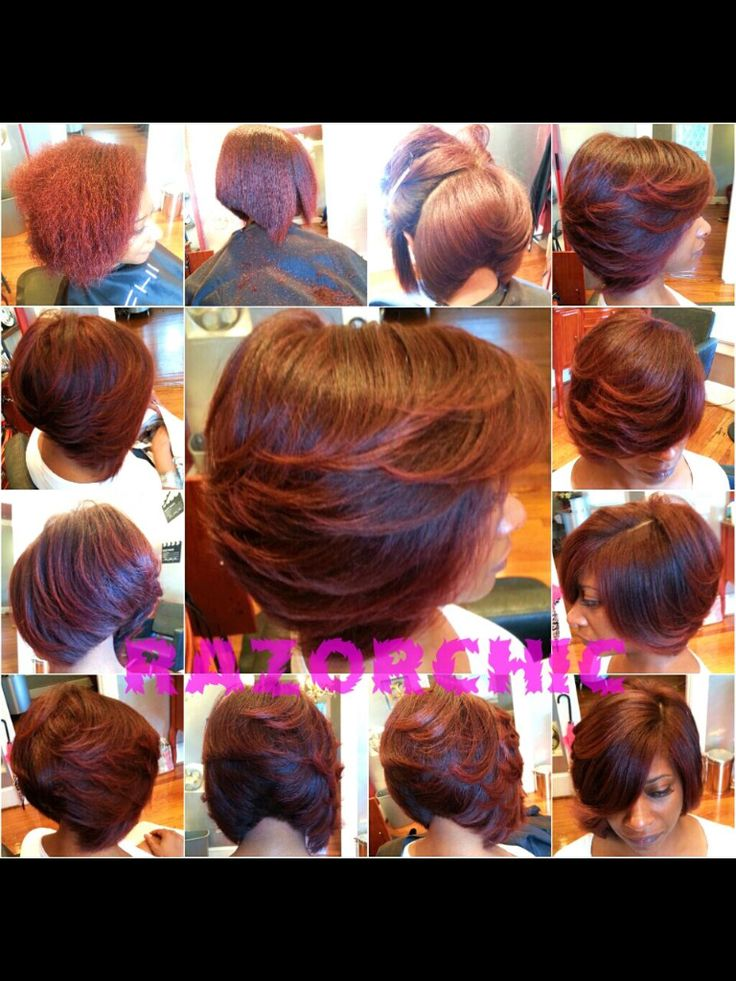 Razor Chic hairstyle. I Love This Cut!!