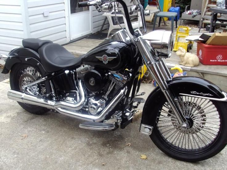 Fat Boy Pictures - Page 227 - Harley Davidson Forums I love these wheels #harleydavidsonfatboybaggers