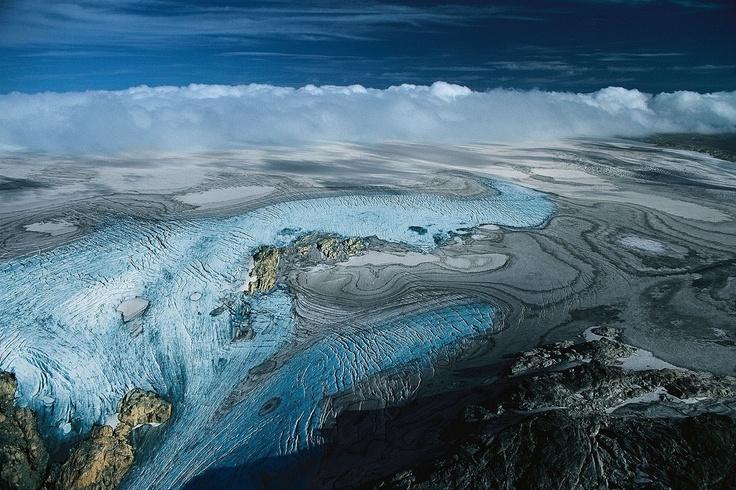 Folgefonna National Park, Rosendal, Norway. http://www.folgefonna.info/