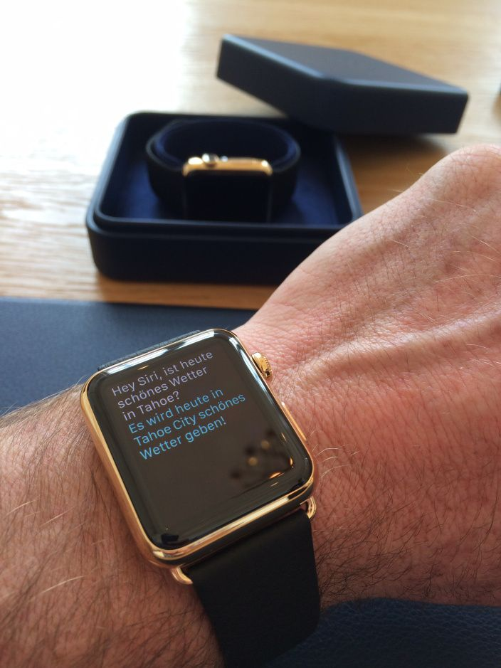 The Apple Watch Edition try on experience [1st hand account & Gallery]