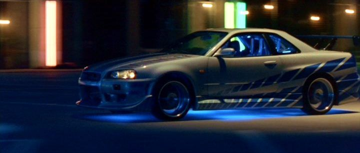 ;;Nisan Skyline form the movie; Fast and Furious 2!!