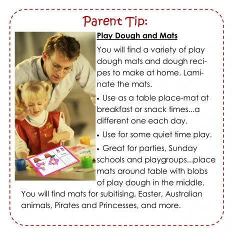 Play Dough Mats and how they can help your chiild learn.