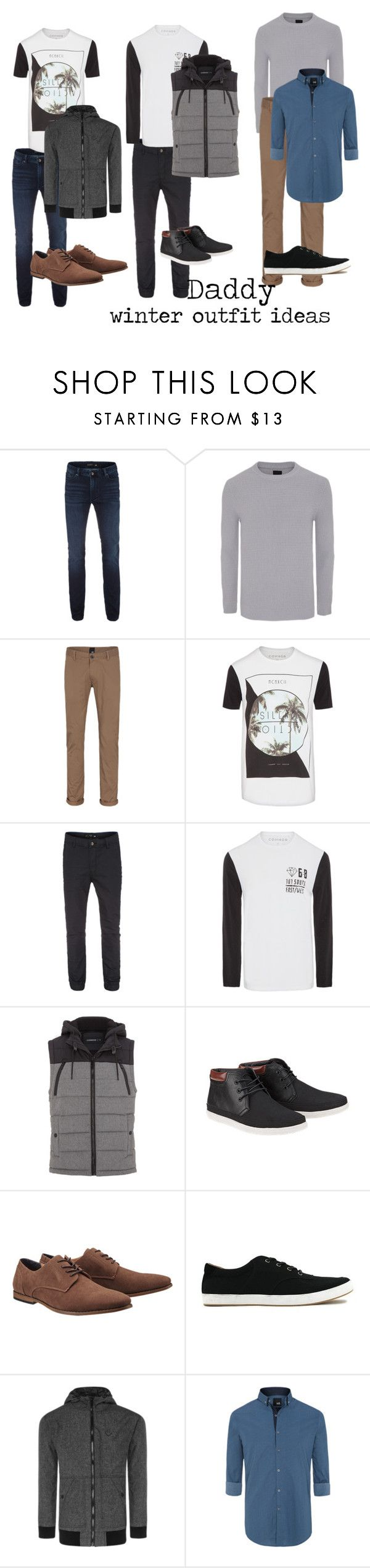 """""""DADDY - Winter Outfit Ideas"""" by mrsandmummy on Polyvore featuring men's fashion and menswear"""
